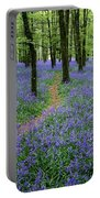 Bluebell Wood, Near Boyle, Co Portable Battery Charger
