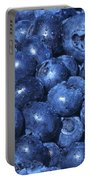Blueberries With Waterdrops Portable Battery Charger