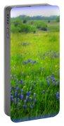 Bluebonnet Dreams Portable Battery Charger