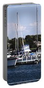 Boat Harbor In Dunkirk New York Portable Battery Charger