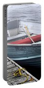 Boat In Fog Portable Battery Charger