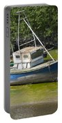 Boat On Banks Of Dee Portable Battery Charger