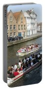 Boat Tours In Brugge Belgium Portable Battery Charger