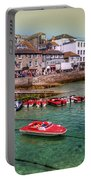 Boats At St Ives  Portable Battery Charger