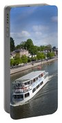 Boats On River Dee Portable Battery Charger