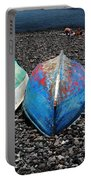 Boats On The Shingle Portable Battery Charger