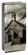 Bodie Church Sepia Portable Battery Charger