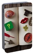 Book Of Secrets Portable Battery Charger