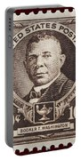 Booker T Washington Postage Stamp Portable Battery Charger