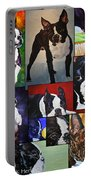 Boston Acrylic Collage Portable Battery Charger