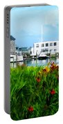 Boston Scene- Boston City Art Portable Battery Charger