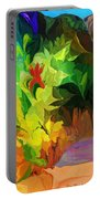Botanical Fantasy 091612 Portable Battery Charger