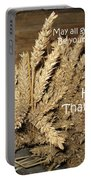 Bounty. Thanksgiving Greeting Card Portable Battery Charger