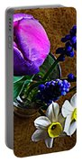 Bouquet Of Bulbs Portable Battery Charger