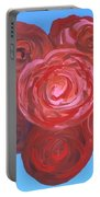 Bouquet Of Roses Portable Battery Charger