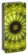 Bouquet Of Roses Kaleidoscope 11 Portable Battery Charger