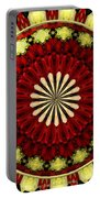 Bouquet Of Roses Kaleidoscope 5 Portable Battery Charger