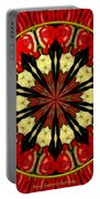 Bouquet Of Roses Kaleidoscope 8 Portable Battery Charger