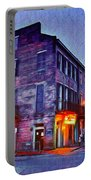 Bourbon Street In The Quiet Hours Portable Battery Charger
