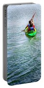 Boys Rowing Portable Battery Charger