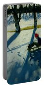 Boys Sledging Portable Battery Charger