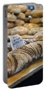 Bread Market Portable Battery Charger by Heather Applegate