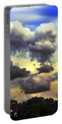 Break In The Clouds Portable Battery Charger
