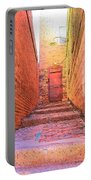 Old Stairs - Bisbee Az Portable Battery Charger