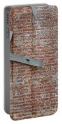 Brick Wall Cross Portable Battery Charger