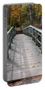 Bridge Into Autumn Portable Battery Charger