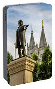 Brigham's Slc Temple Portable Battery Charger