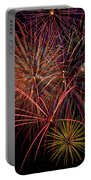 Bright Colorful Fireworks Portable Battery Charger
