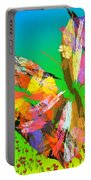 Bright Elusive Butterflys Of Love Portable Battery Charger