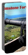 Brimstone Fortress Poster Portable Battery Charger