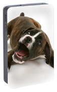 Brindle Boxer Pup Portable Battery Charger