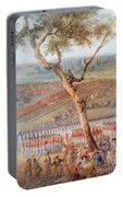 British Troops Surrender At Yorktown Portable Battery Charger