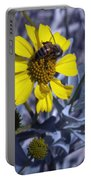 Brittlebush Bee Portable Battery Charger