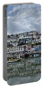 Brixham Harbour - Panorama Portable Battery Charger