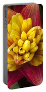 Bromiliad Blossom Portable Battery Charger