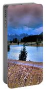Brooding Skies Portable Battery Charger