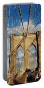 Brooklyn Bridge Summer Portable Battery Charger