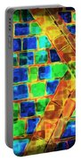 Brooklyn Tile Abstract Portable Battery Charger