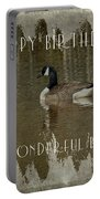 Brother Birthday Greeting Card - Canada Goose Portable Battery Charger