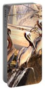 Brown Pelican - Holding Things Together Portable Battery Charger