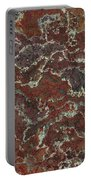 Brown Stone Abstract Portable Battery Charger