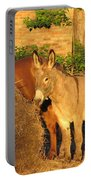 Brown Sugar Eating Some Hay Portable Battery Charger