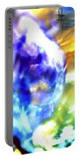 Bubble Abstract 001 Portable Battery Charger