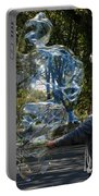 Bubble Boy Of Central Park Portable Battery Charger