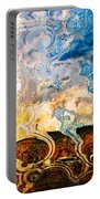 Bubble Landscape Abstract Portable Battery Charger