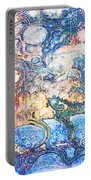 Bubbles Abstract Portable Battery Charger